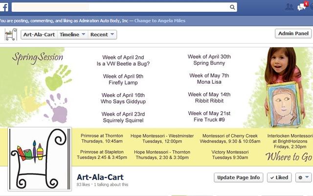 Facebook - Art Ala Cart