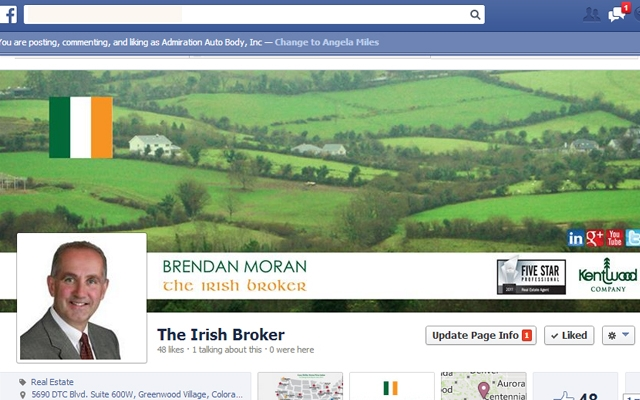 Facebook - Brendan Moran