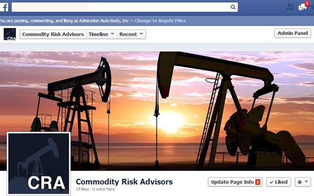 Facebook - Commodity Risk Advisors