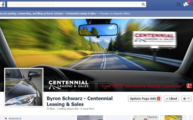 Facebook - Centennial Auto Leasing