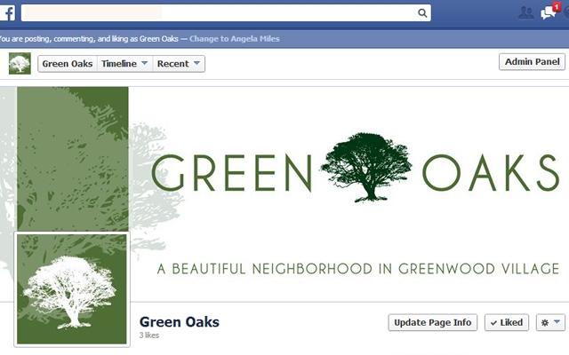 Facebook - Green Oaks