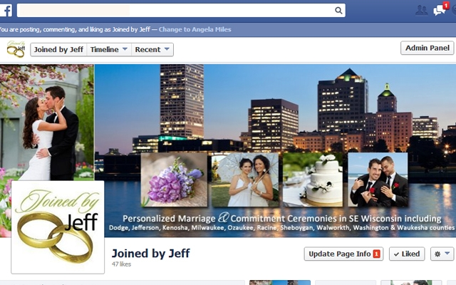 Facebook - Joined by Jeff