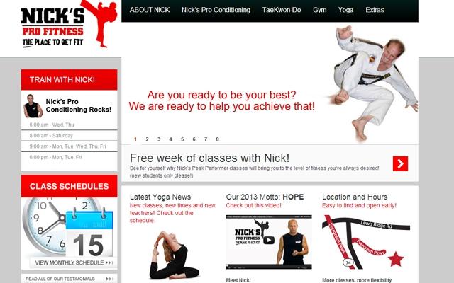 Nicks Pro Fitness