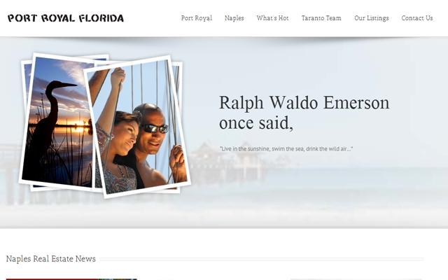 Port Royal Florida Website