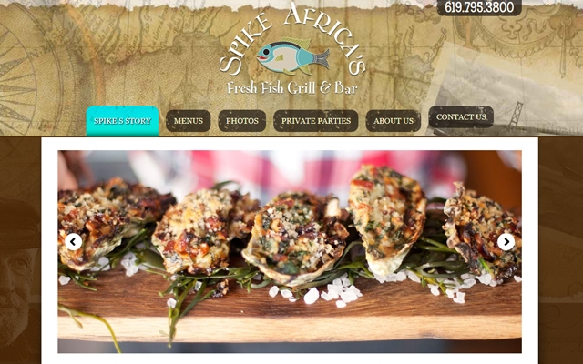 Spike Africa's Website