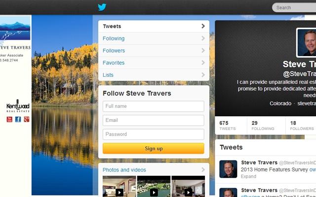 Twitter - Steve Travers