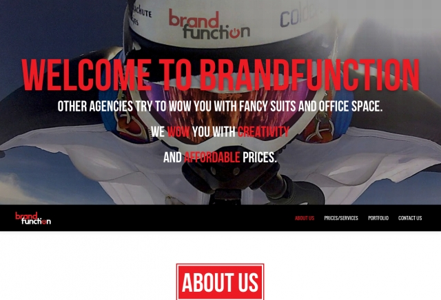 BrandFunciton.com Website