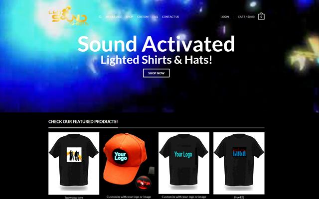 LED Sound Shirts