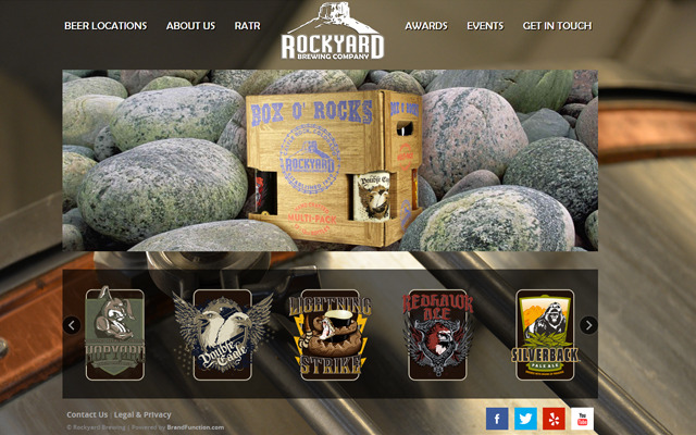 Rockyard Brewing Website