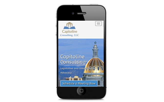 Capitoline Consulting LLC Mobile Website